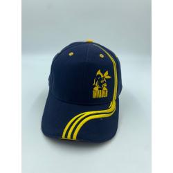 Czapka basebollówka z logo - kolor granatowy