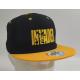 Letnia czapka z prostym daszkiem z logo Invader