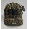 Letnia czapka z daszkiem camo z haftowanym logo Invader