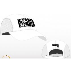 Letnia czapka z daszkiem z haftowanym logo