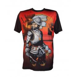 Koszulka Rashguard INVADER - Cortes