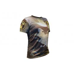 Koszulka Rashguard INVADER - Camoo