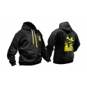 Hoody with Invader logo