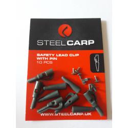 Bezpieczny klips z bolcem - Steel Carp