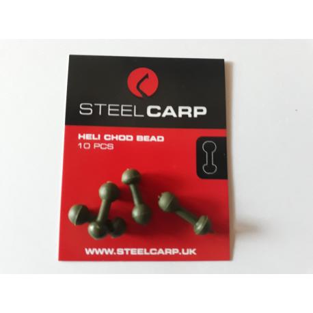 Koralik Heli Chod - Steel Carp
