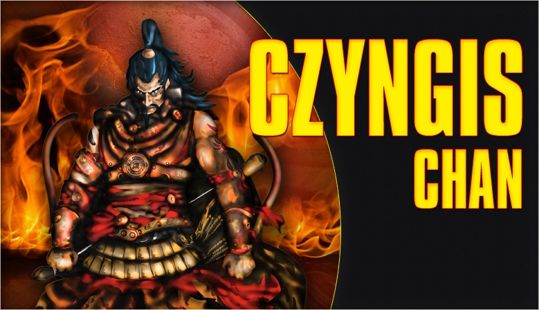 Invader - Czyngis Chan